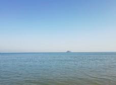 海天一色碧海蓝天