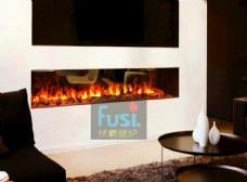 别墅客厅装饰伏羲3d雾化电壁炉