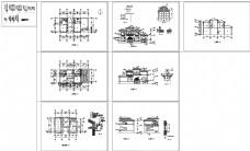 农村自建别墅建筑施工图