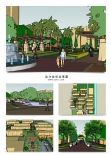 高档小区的景观设计