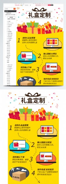 活动礼盒定制流程