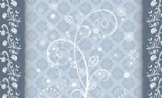 花藤花树玫瑰欧式底纹欧式装饰画