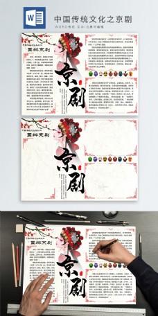 弘扬中国传统文化——京剧