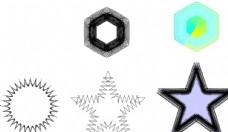 异形几何素材