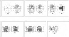 四层花园别墅建筑施工图一套