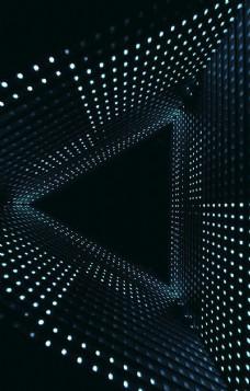 三角 几何 点状 空间