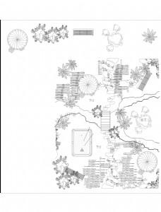 CAD立面树绘制合集