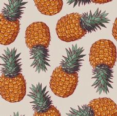卡通水果印花