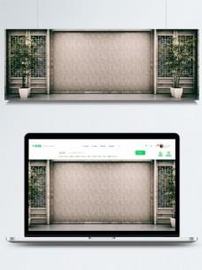 原创竹子中式木纹质感禅意中国风背景