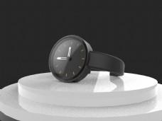 原创简约高端商务手表外观设计3D模型