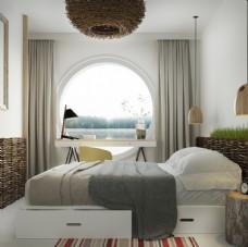 室内美丽好看欧式房间
