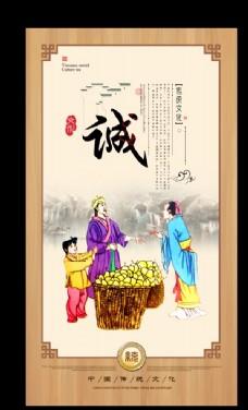 傳統文化展板