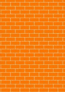 红砖墙体背景