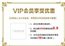 VIP海报