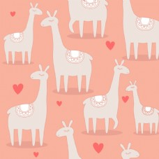 羊驼卡通形象