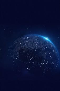 科技地球背景素材