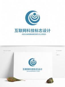 互联网科技标志设计