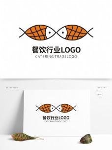 鱼餐饮行业LOGO