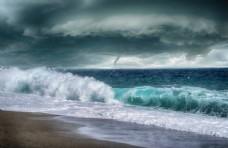 大海图片龙卷风图片海浪图片8k
