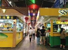 三亚 美食街 商业街