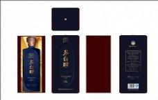 贵州茅台醇柔和酱香外盒包装设计
