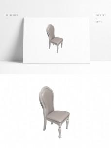 室内欧式3D椅子模型