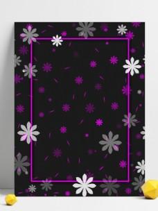 暗色花朵背景素材