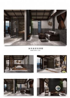 新中式客家风民宿