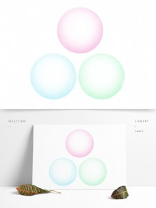 泡泡气泡透明水泡彩色
