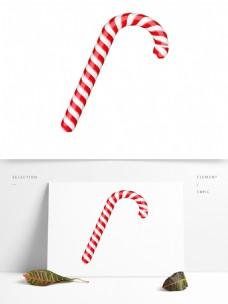 红白色糖果节日素材
