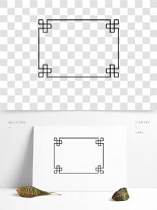 通用边框元素简约几何