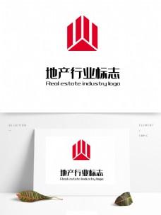 简约几何地产logo