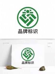 原创高端系列品牌企业大气标识标志设计