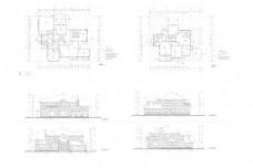 自建别墅CAD图纸