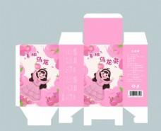 手绘包装乌龙茶