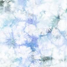 蓝色渲染扎染图
