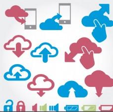 云计算和图标