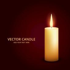 点燃的蜡烛