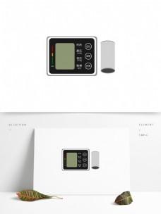 高清矢量家用血压计检测电子设备设计元素
