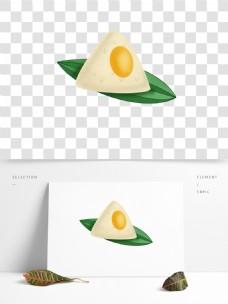 蛋黄粽子手绘粽子端午节端午粽子卡通粽子