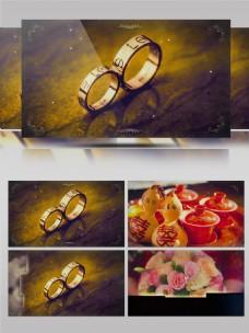 西式风格婚礼婚庆照片电子相册