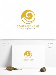 时尚圆形大气餐饮logo