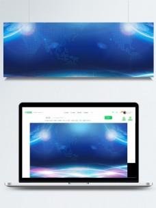 高科技光点广告背景