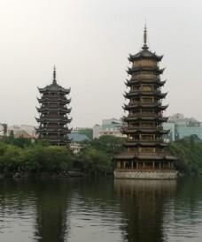 桂林日月塔