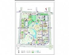 CAD校园规划图