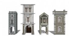 民国时期建筑墙面