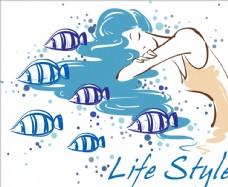 海洋之梦插画