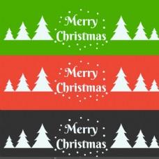 圣诞头有圣诞树