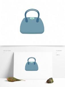 女性用品手拎包矢量卡通元素