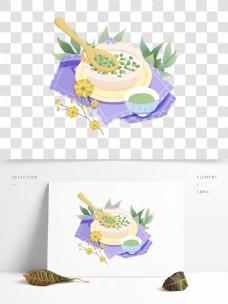 小暑系列之绿豆汤小清新手绘